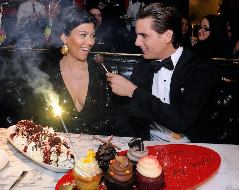 Kourtney Kardashian and Scott Disick.