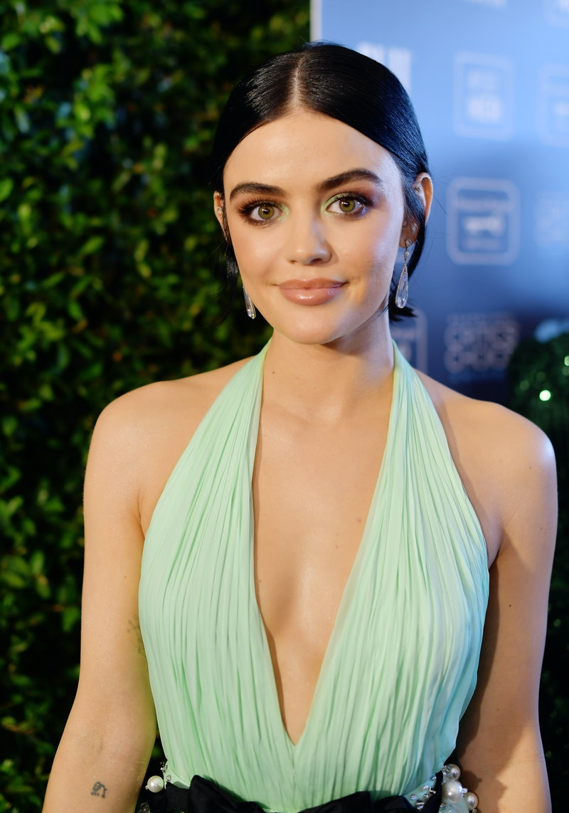 Lucy Hale recently celebrated her birthday by getting a new tattoo. The fresh ink is a tiny daisy.