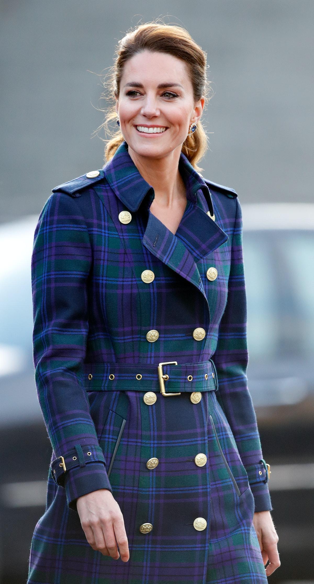 The Duchess of Cambridge hosts a drive-in cinema screening of Disney's 'Cruella' for Scottish NHS wo...