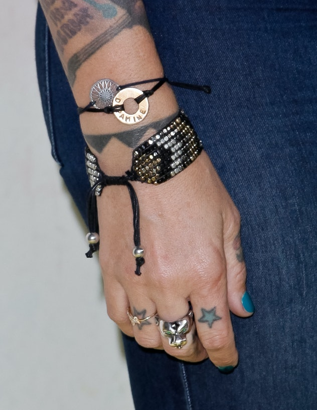 star tattoos on hand