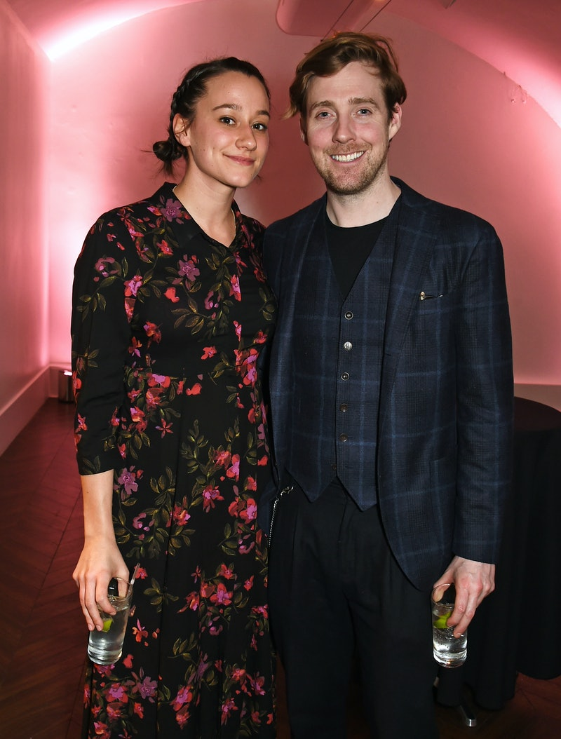 Grace Zito and Ricky Wilson attend an after party.