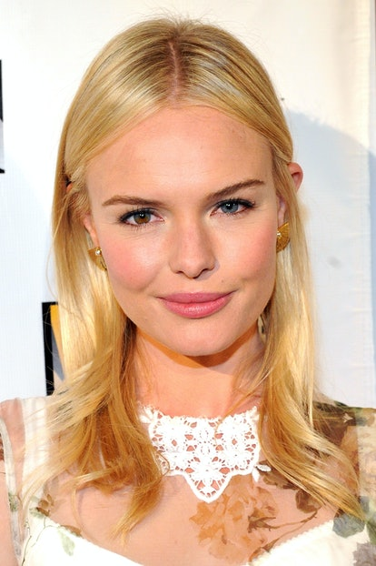 A blonde with hints of grain-like gold, seen here on Kate Bosworth, is the perfect choice for summer.