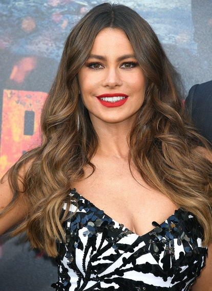 Sofia Vergara's almond brunette locks are stunning. The rich shade is so on trend for summer.