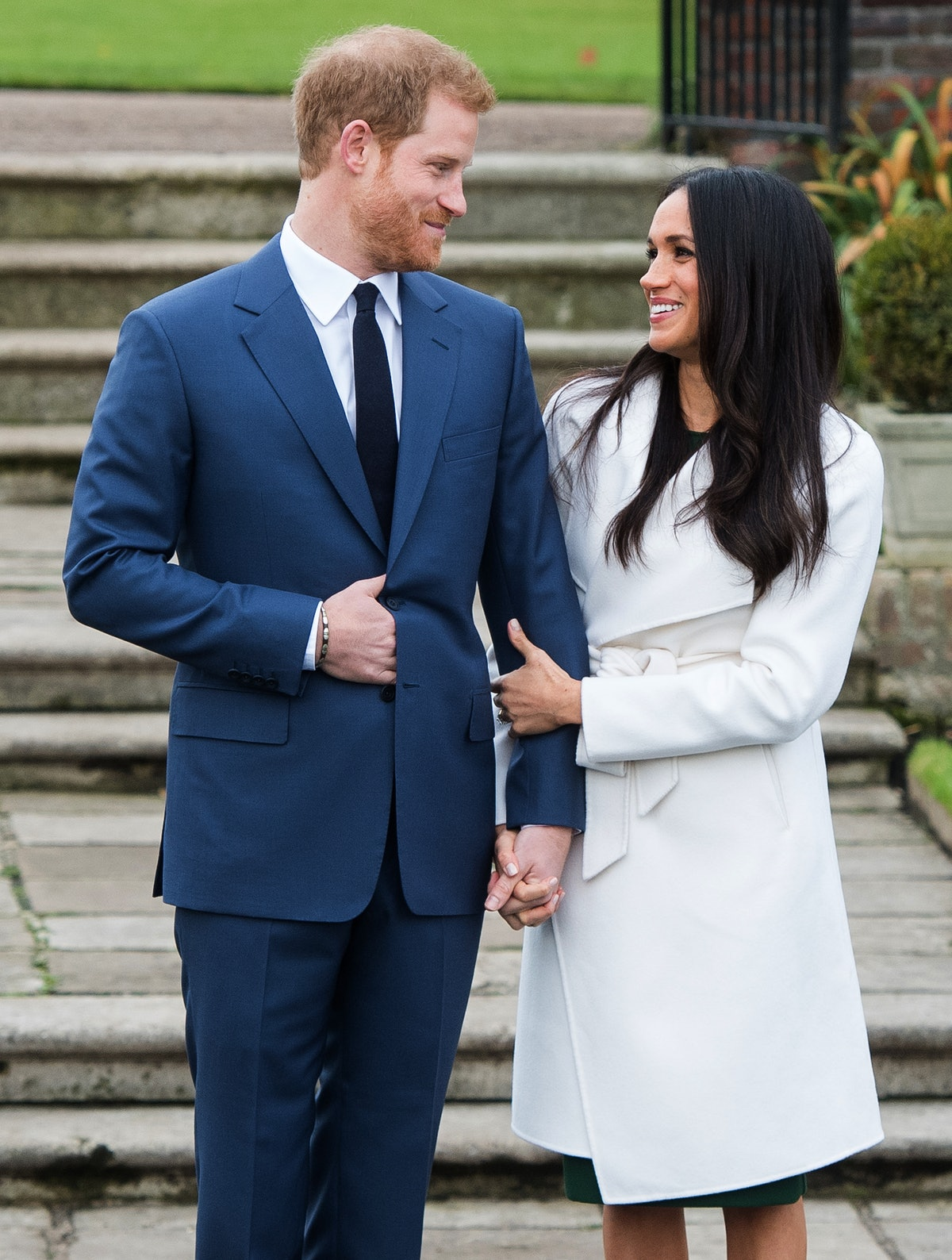 """Prince Harry and Meghan Markle act as a """"true team"""" in public."""
