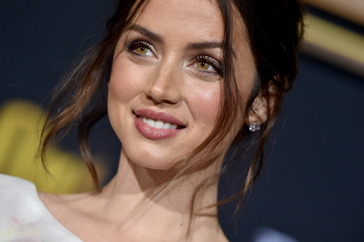 """WESTWOOD, CALIFORNIA - NOVEMBER 14: Ana de Armas attends the Premiere of Lionsgate's """"Knives Out"""" at Regency Village Theatre on November 14, 2019 in Westwood, California. (Photo by Axelle/Bauer-Griffin/FilmMagic)"""