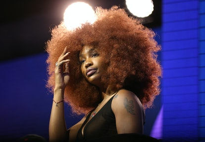 Singer SZA has gotten in on the copper hair trend in the past. The hue is a great choice for summer 2021.