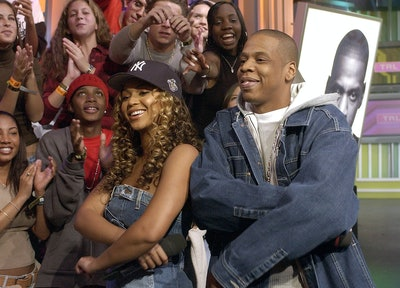 (EXCLUSIVE, Premium Rates Apply) Beyonce Knowles & Jay-Z (Photo by Kevin Mazur/WireImage)