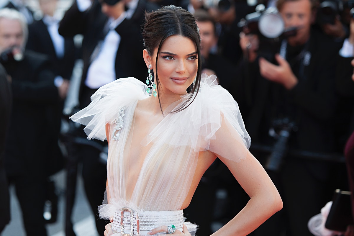 CANNES, FRANCE - MAY 12: Kendall Jenner attends the screening of 'Girls Of The Sun (Les Filles Du Soleil)' during the 71st annual Cannes Film Festival at Palais des Festivals on May 12, 2018 in Cannes, France. (Photo by Laurent KOFFEL/Gamma-Rapho via Getty Images)