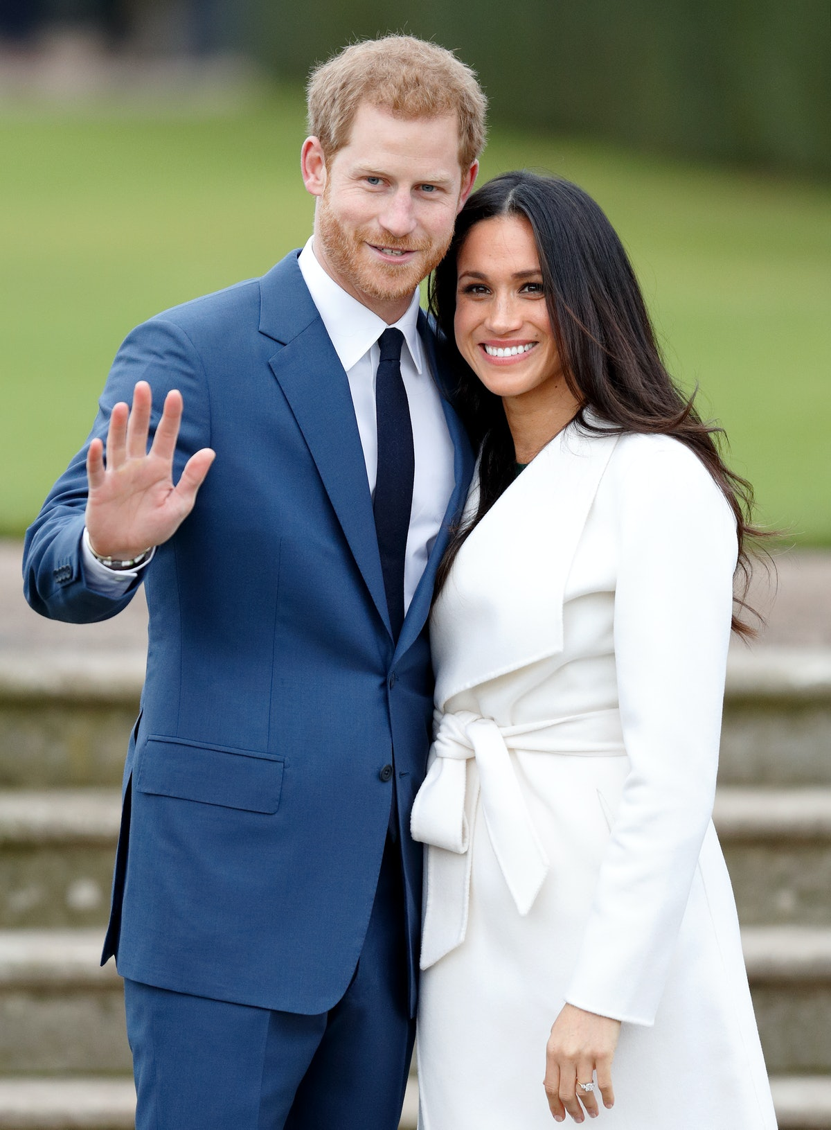 The Duke and Duchess of Sussex, shown here waving to cameras, no longer have HRH titles.