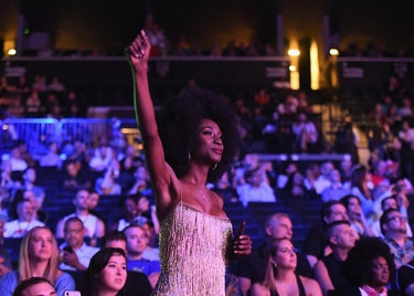 Angelica Ross attends WorldPride in June 2019 in New York City.