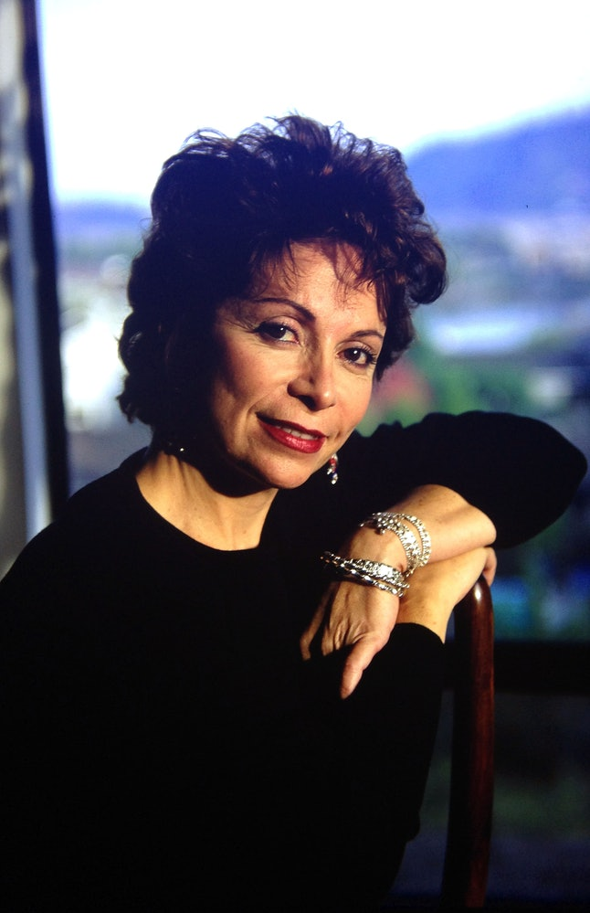 SAN RAFAEL, MARIN COUNTY, CA - FEBRUARY 12: Isabel Allende  is a Chilean-American writer.Allende, wh...