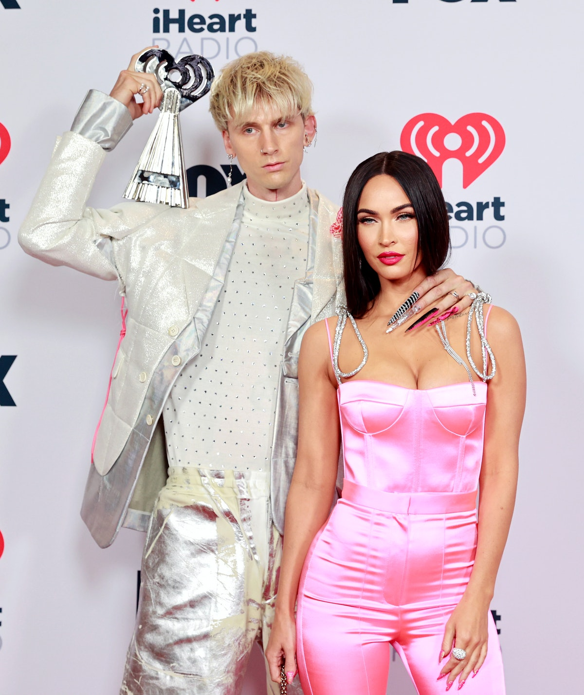 Machine Gun Kelly and Megan Fox, who are starring in 'Midnight in the Switchgrass'