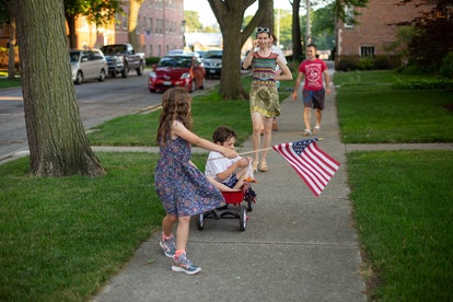 kids on the fourth of july