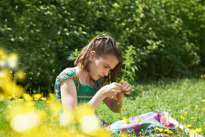 Making flower crowns and other summer crafts can help your family celebrate Summer Solstice.