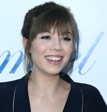 """HOLLYWOOD, CA - JUNE 13:  Jennette McCurdy arrives at the Magnolia Pictures' """"Damsel"""" Premiere at ArcLight Hollywood on June 13, 2018 in Hollywood, California.  (Photo by Steve Granitz/WireImage)"""