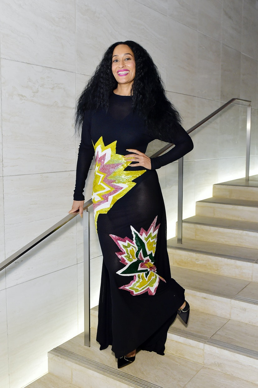 Tracee Ellis Ross attends Tom Ford: Autumn/Winter 2020 Runway Show in 2020.
