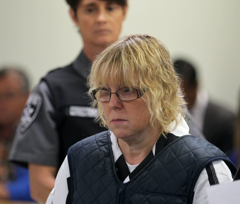 Joyce Mitchell  appears before the Judge on June 15, 2015 in Plattsburgh, New York. Mitchell alleged...
