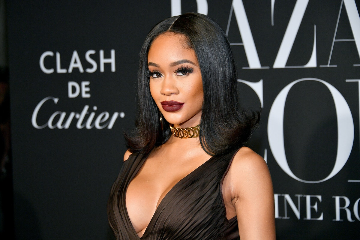 NEW YORK, NEW YORK - SEPTEMBER 06: Saweetie attends the 2019 Harper's Bazaar ICONS on September 06, 2019 in New York City. (Photo by Dia Dipasupil/Getty Images)