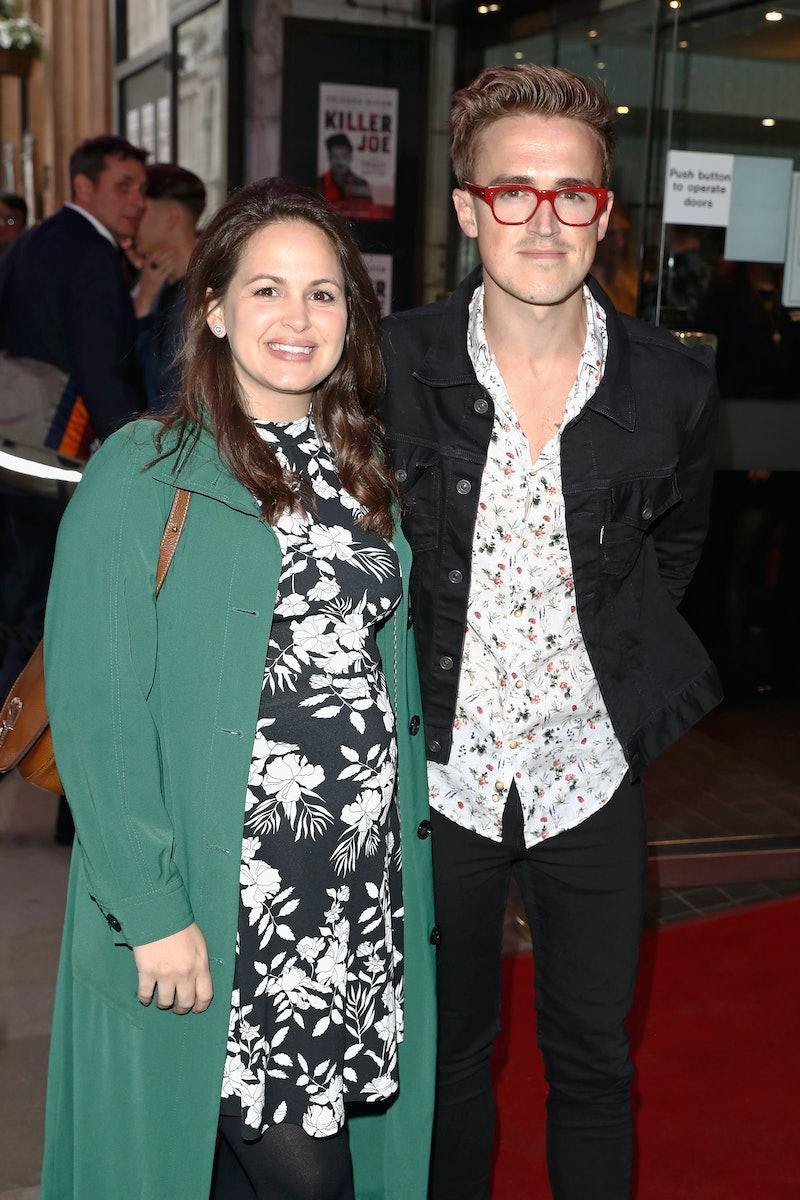 LONDON, ENGLAND - JUNE 04:  Giovanna Fletcher and Tom Fletcher attend the opening night of 'Killer J...