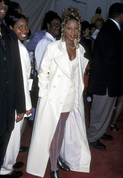 Mary J. Blige during The 9th Annual Soul Train Music Awards at Shrine Auditorium in Los Angeles, Cal...