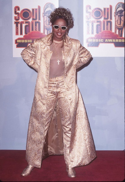 Mary J. Blige during The 11th Annual Soul Train Music Awards at Shrine Auditorium in Los Angeles, Ca...