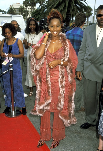 """Mary J. Blige during 4th Annual Soul Train """"Lady of Soul"""" Awards at Santa Monica Civic Auditorium in..."""