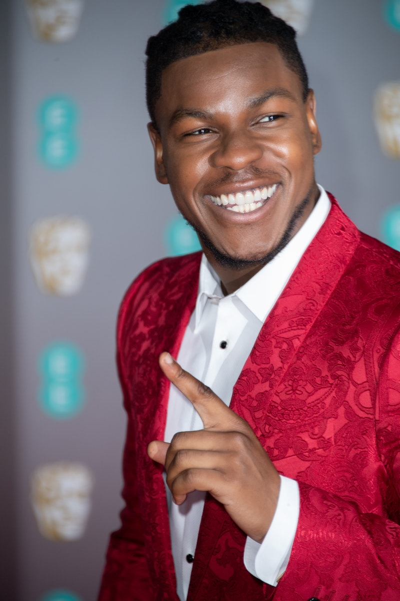 John Boyega attends the EE British Academy Film Awards 2020