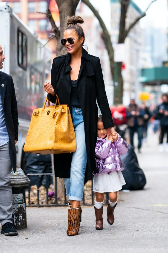 Chrissy Teigen got a new tattoo to honor her daughter and the messiness of life.