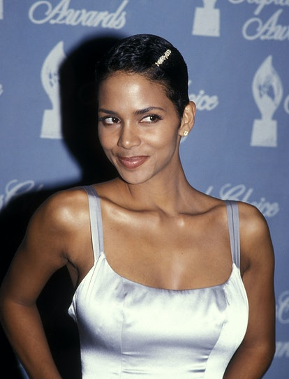 UNIVERSAL CITY,CA - MARCH 5:   Actress Halle Berry attends the 21st Annual People's Choice Awards on March 5, 1995 at Universal Studios in Universal City, California. (photo by Ron Galella, Ltd./Ron Galella Collection via Getty Images)