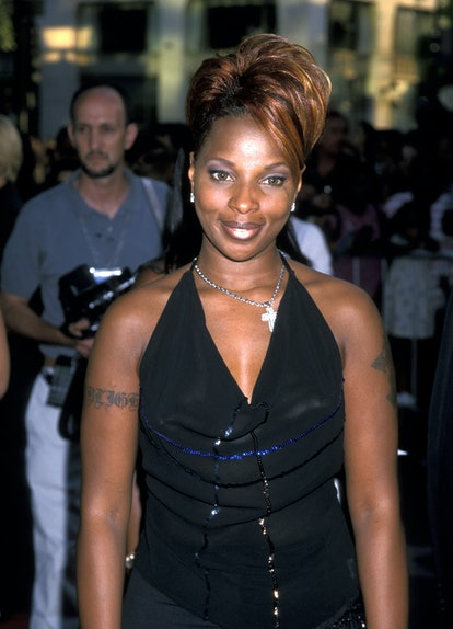 Mary J. Blige (Photo by Ron Galella/Ron Galella Collection via Getty Images)