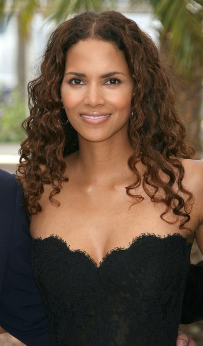 """Halle Berry during 2006 Cannes Film Festival - """"X-Men 3: The Last Stand"""" Photocall at Palais des Festival Terrace in Cannes, France. (Photo by Daniele Venturelli/WireImage)"""