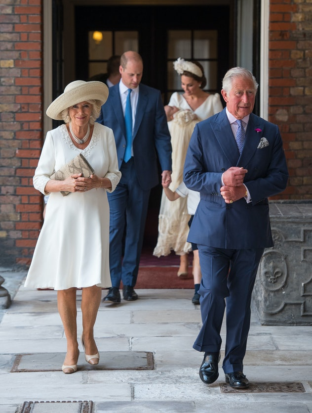 LONDON, ENGLAND - JULY 09:  Britain's Prince Charles, Prince of Wales (R) and Britain's Camilla, Duc...