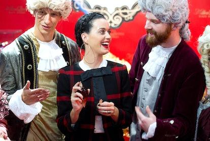 Katy Perry promotes Killer Queen in 2013.