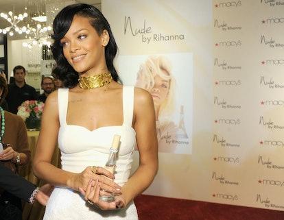 Rihanna promotes Nude in 2012.