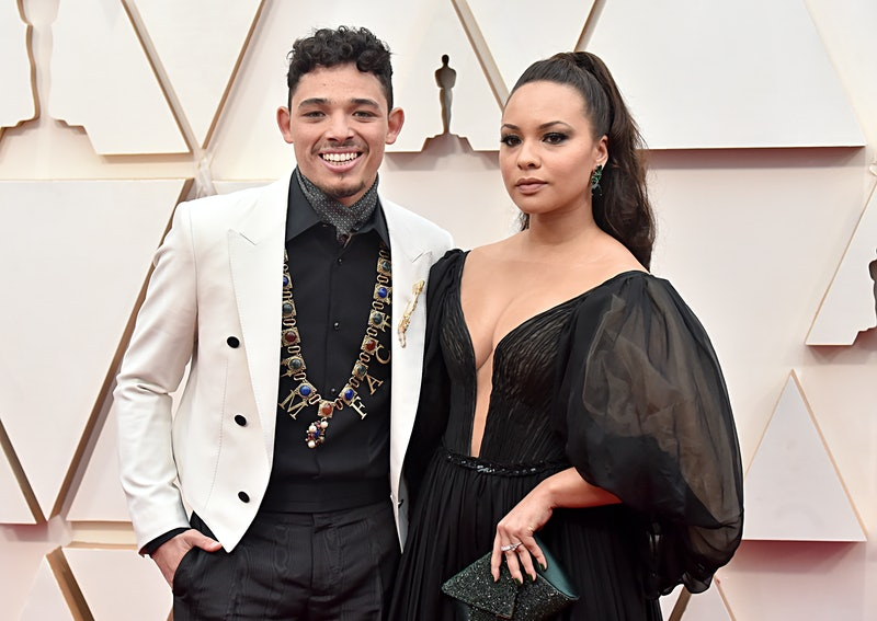 HOLLYWOOD, CALIFORNIA - FEBRUARY 09: (L-R) Anthony Ramos and Jasmine Cephas attend the 92nd Annual A...