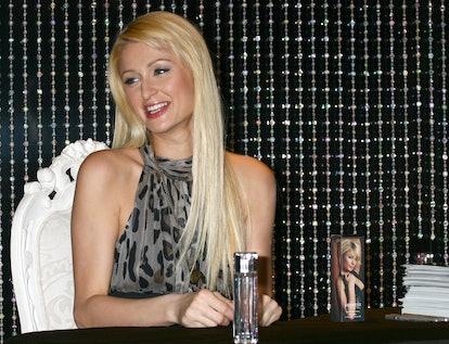 Paris Hilton promotes Heiress.