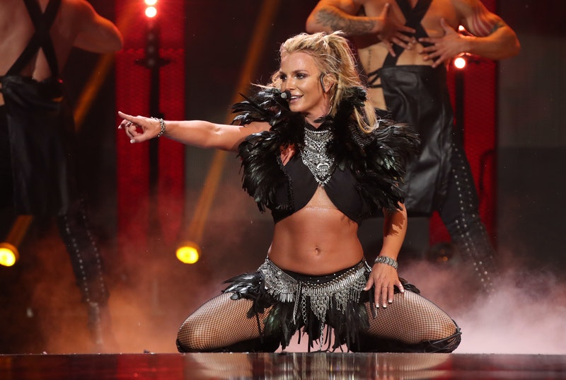 LAS VEGAS, NV - SEPTEMBER 24:  Singer Britney Spears performs onstage at the 2016 iHeartRadio Music ...