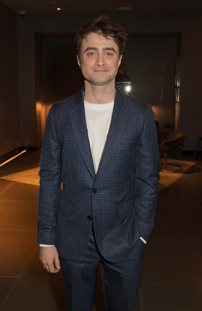"""LONDON, ENGLAND - FEBRUARY 04:  Daniel Radcliffe attends the press night after party for """"Endgame"""" at Sea Containers on February 4, 2020 in London, England.  (Photo by David M. Benett/Dave Benett/Getty Images)"""