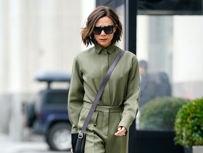 Victoria Beckham's iconic haircut epitomizes the blunt bob.