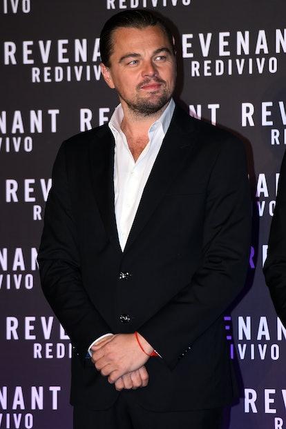 American actor Leonardo di Caprio attend The Revenant movie red carpet in the Casa del Cinema. Rome (Italy), January 15th, 2016 (Photo by Massimo Insabato/Archivio Massimo Insabato/Mondadori Portfolio via Getty Images)