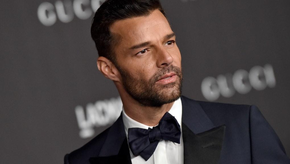 LOS ANGELES, CALIFORNIA - NOVEMBER 02: Ricky Martin attends the 2019 LACMA Art + Film Gala Presented...