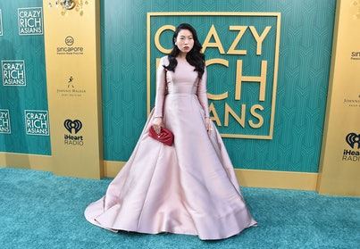 Awkwafina at the 2018 premiere of Crazy Rich Asians.