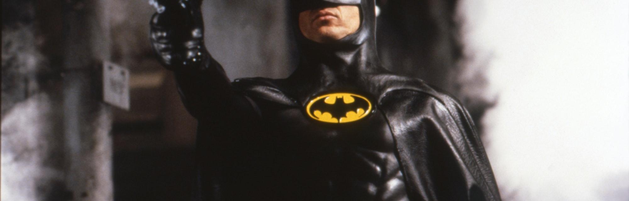 "Michael Keaton on the set of ""Batman"". (Photo by Sunset Boulevard/Corbis via Getty Images)"