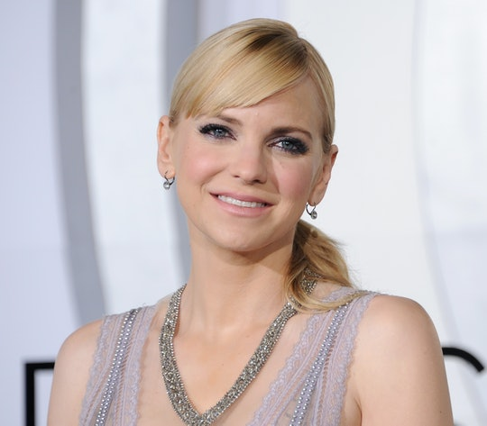 """WESTWOOD, CA - DECEMBER 14: Actress Anna Faris arrives at the premiere of Columbia Pictures' """"Passen..."""