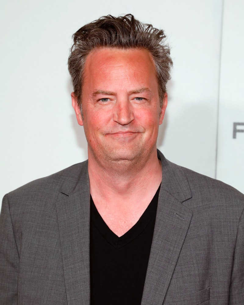 """NEW YORK, NY - APRIL 26:  Matthew Perry attends the premiere of """"The Circle"""" during the 2017 Tribeca Film Festival at Borough of Manhattan Community College on April 26, 2017 in New York City.  (Photo by Taylor Hill/Getty Images)"""