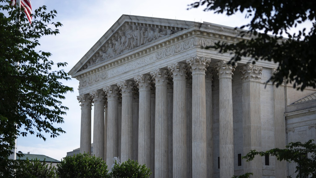 WASHINGTON, DC - JUNE 1: A general view of the U.S. Supreme Court on June 1, 2021 in Washington, DC....