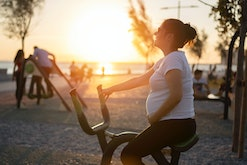 Riding a bike or cycling during pregnancy can be safe.