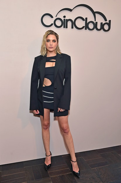 LOS ANGELES, CALIFORNIA - JUNE 15: Ashley Benson attends the Coin Cloud Cocktail Party, hosted by artist and actor Common, at Sunset Tower Hotel on June 15, 2021 in Los Angeles, California. (Photo by Stefanie Keenan/Getty Images for Coin Cloud)