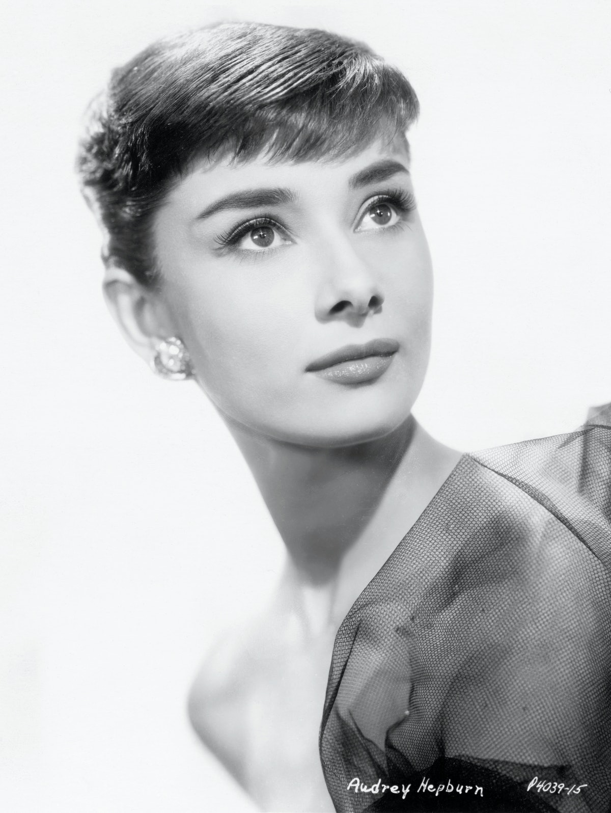 """Audrey Hepburn cut her hair to an iconic pixie for her role in """"Roman Holiday."""""""