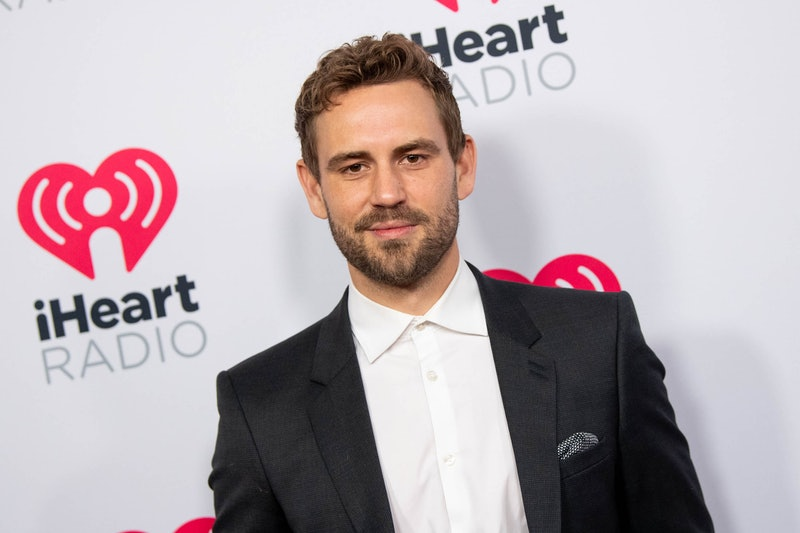 BURBANK, CALIFORNIA - JANUARY 17: Nick Viall arrives at the 2020 iHeartRadio Podcast Awards at iHeartRadio Theater on January 17, 2020 in Burbank, California. (Photo by Emma McIntyre/WireImage)